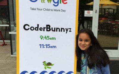 Con sólo 10 años fue contratada por Google y ya ha ganado $35.000 dólares