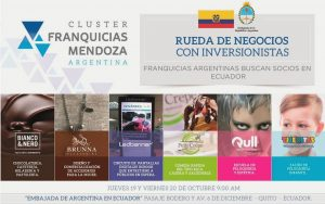 cluster franquicias mendoza ecuador