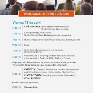 Programa conferencias expo 2