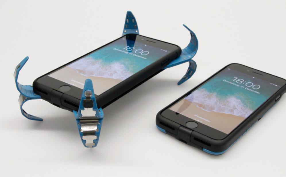 ¿Cansado de que se te rompan los celulares? Mirá esta carcasa inteligente